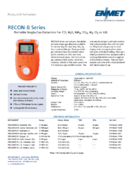 Recon-B Series Literature