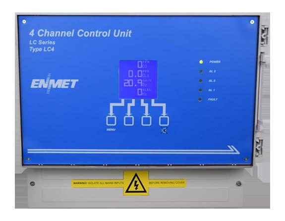 LC 1-4 Gas Controller