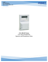 CD-1300-ST Manual