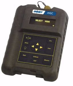 mGC Portable chemical detector measuring sub ppm levels